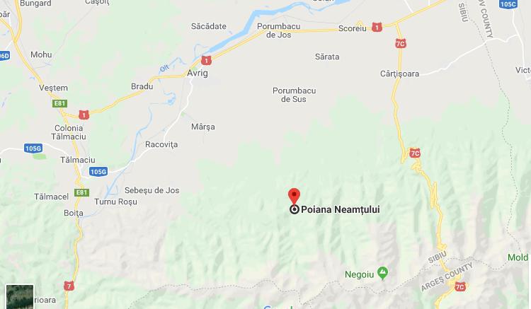 Poiana Neamtului location