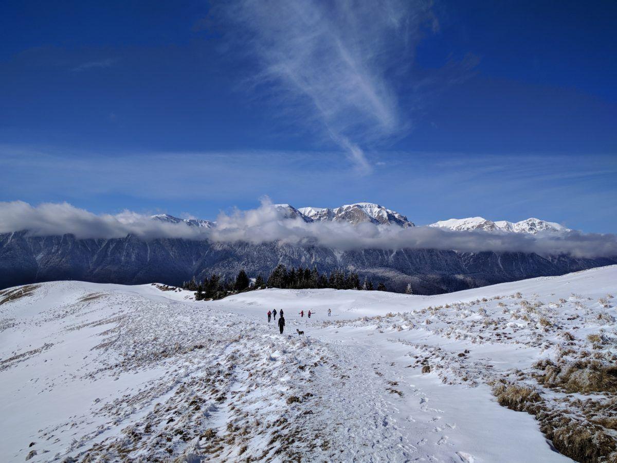 View from Baiului ridge