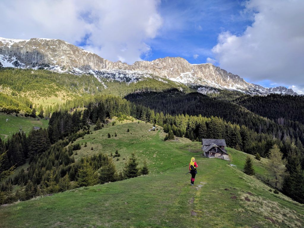 Hiking in the Bucegi Mountains, Romania