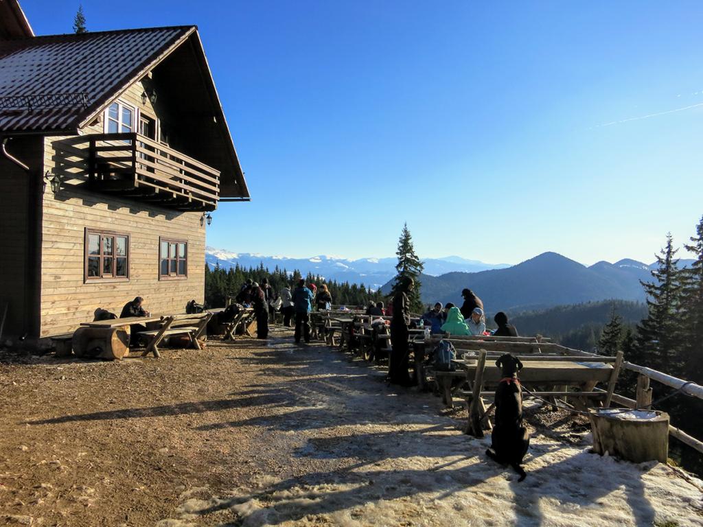Cabana Curamtura, Piatra Craiului Mountains, Romania