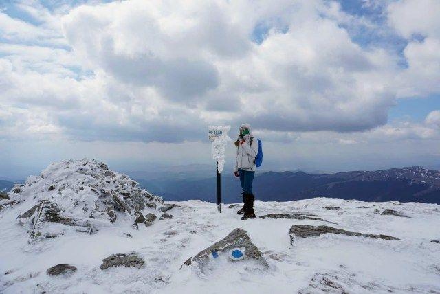 The summit - Leaota Peak (2133 m)