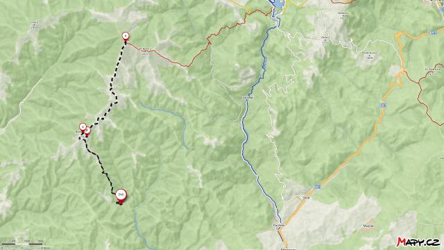 Runcu Monastery to Leaota Peak and back