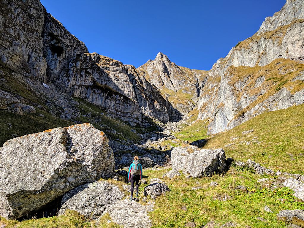Morarului Valley, Bucsoiu Peak