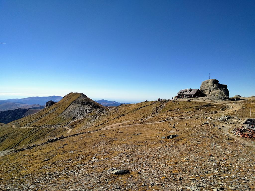 Omu Peak and Omu Chalet