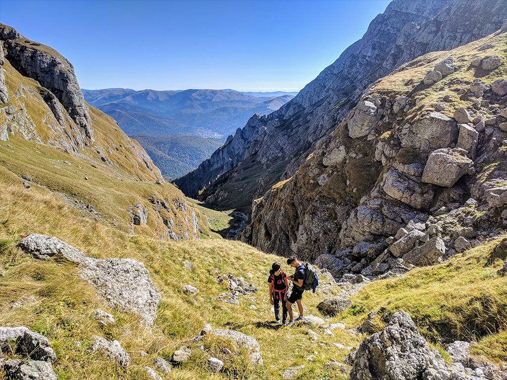 Morarului Valley – a spectacular and wild trail towards the summit of Bucegi