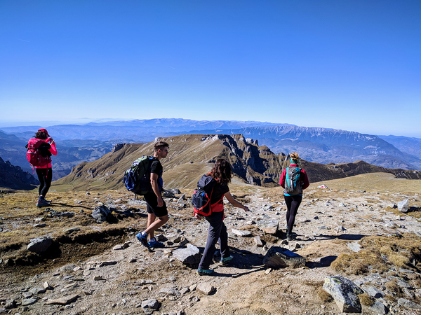 Tiganesti ridge – the best panoramic views in Bucegi Mountains, Romania